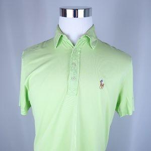Ralph Lauren Pima Cotton Short Sleeve Polo Shirt